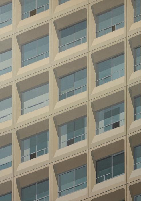 김수영, Dongbu Insurance Building 11am, 캔버스에 유화, 185x130cm, 2008