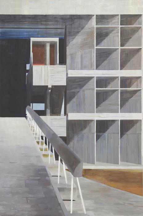 김수영, Milowners' Building, 캔버스에 유화, 270x180cm, 2003