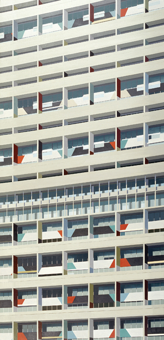김수영, Residential House in Berlin(027), 캔버스에 유화, 250x120cm, 2008