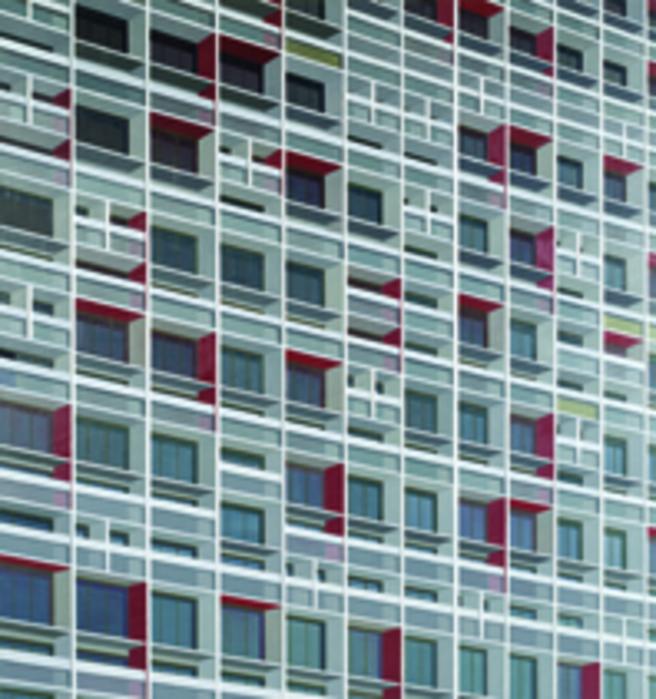 김수영, La Palmyre Residential House, 캔버스에 유화, 210x195cm, 2007