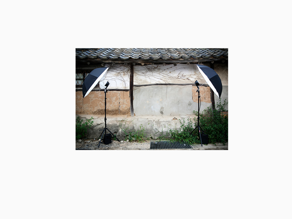 김윤호, 처마 밑 아이비, 라이트젯 프린트, 62.5x52.3cm, 2010