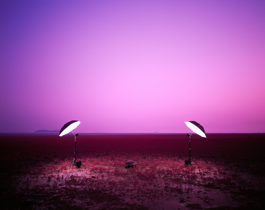 김윤호, 돌 하나, 라이트젯 프린트, 142x174cm, 2010