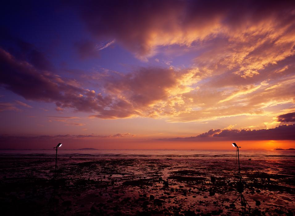 김윤호, 붉은 하늘, 라이트젯 프린트, 130x170cm, 2010