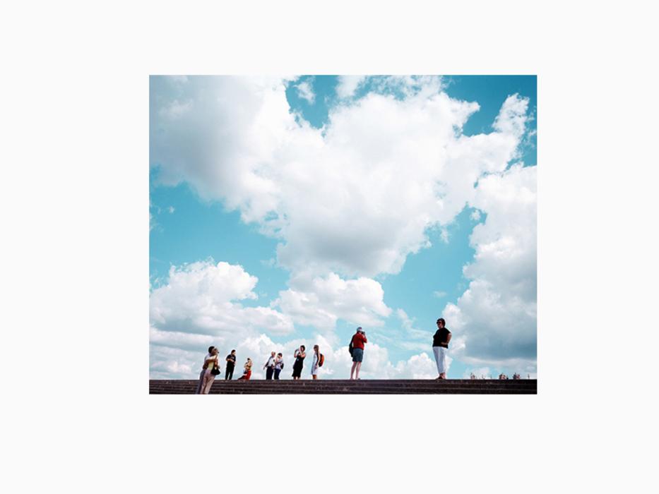 김윤호, 무제 여행 #8, 디지털 C 프린트, 75x60cm, 2005