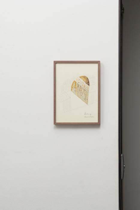 이광호, Barley chamber for singleton house, 펜, 종이에 수채화, 2013