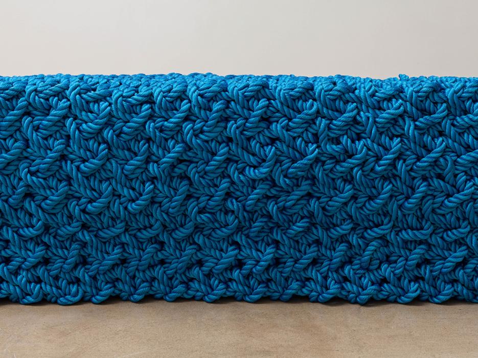 이광호, 강박의 연속, 폴리에스터, 47x1137x30cm, 2014
