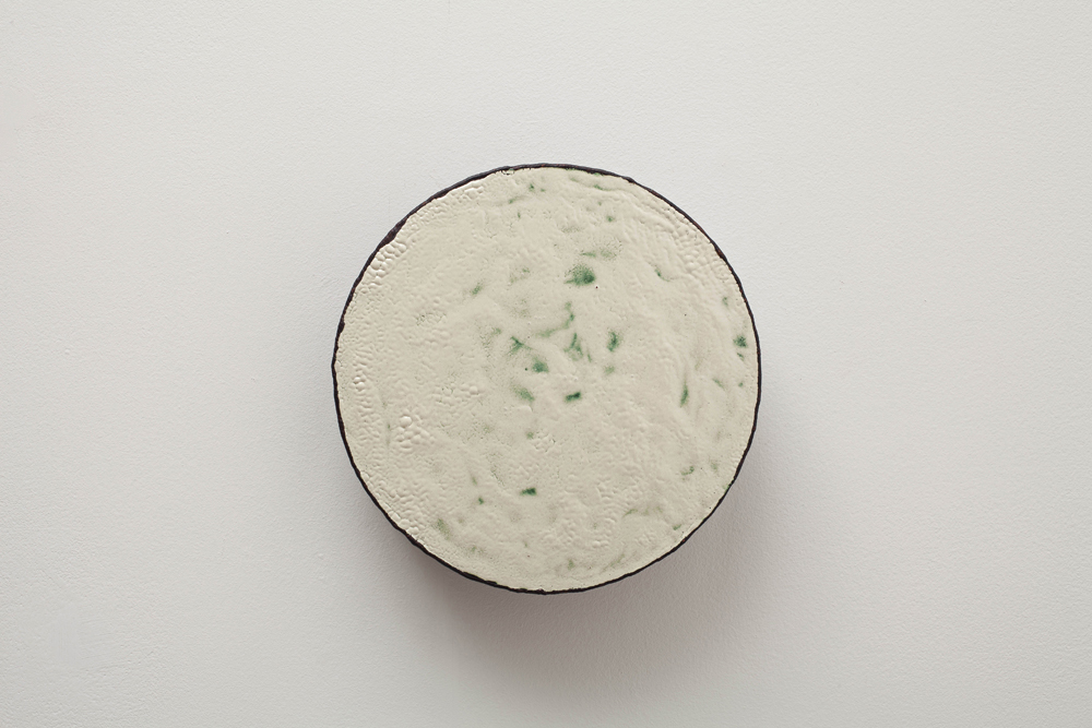 이광호, 일식의 순간, Authentic korean enamel, 25x7.5cm, 2014