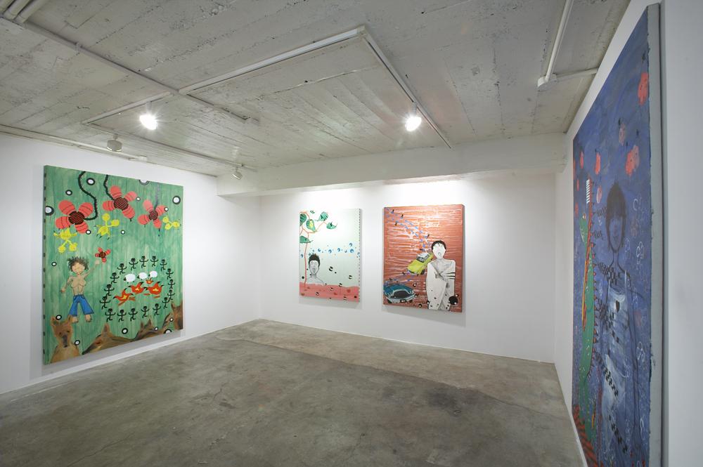 Xu Maomao, Wonderland, 전시장 뷰, 2006