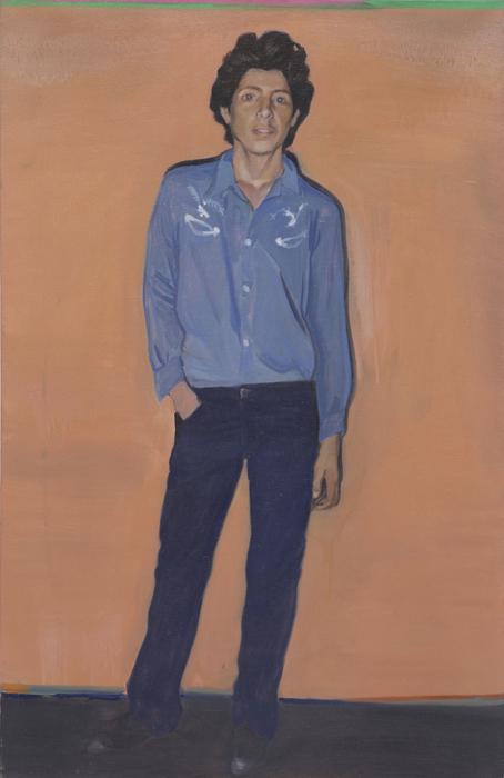 서동욱, Monsieur Inc, 캔버스에 유화, 100 x 72.2 cm, 2007
