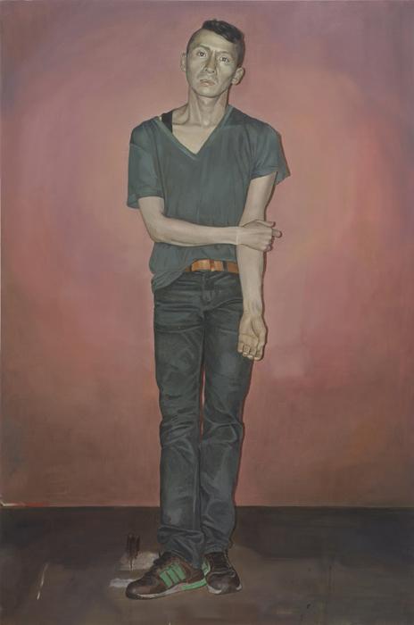 서동욱, S.Y, 캔버스에 유화, 145.5x97cm, 2013
