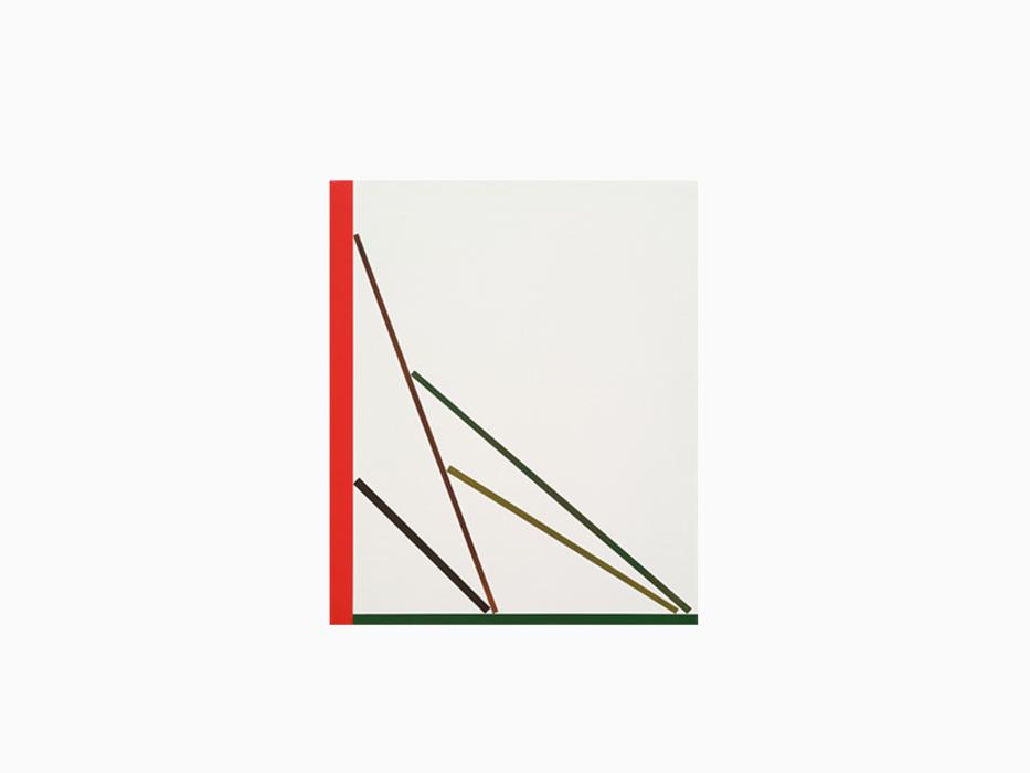 오승열, Lean_1, 캔버스에 아크릴, 45x38cm, 2013