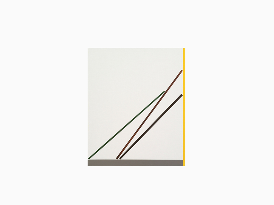 오승열, Lean_2, 캔버스에 아크릴, 45x38cm, 2013