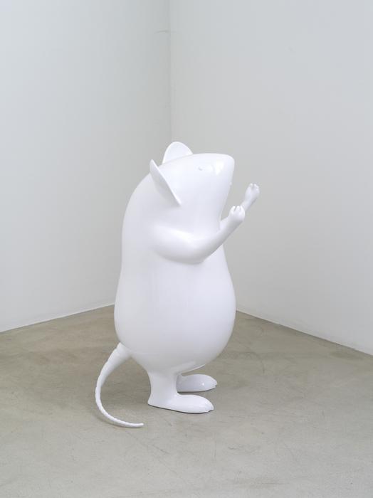 오승열, 폭포, 섬유 유리, 73x40cm, 2010