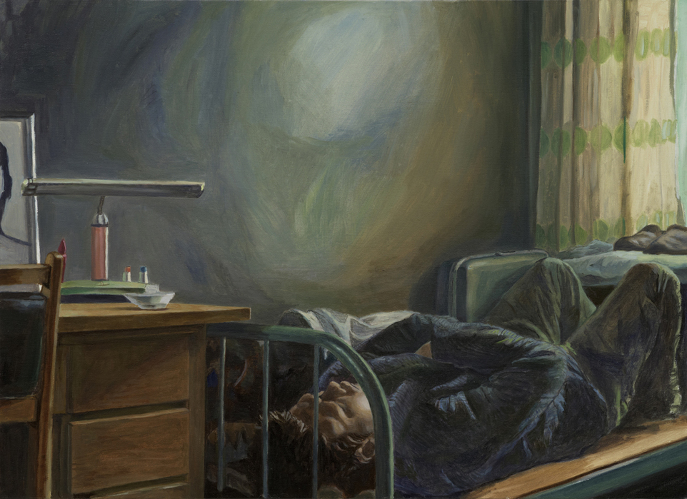 서동욱, 아침, 실내, 엄마의 방, 캔버스에 유화, 72.7 x 53cm, 2011