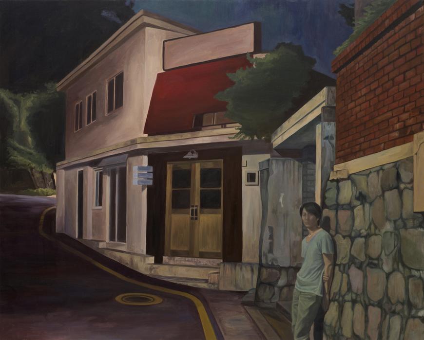 서동욱, S# Night - 뒷골목, 캔버스에 유화, 130.3x162.2cm, 2011