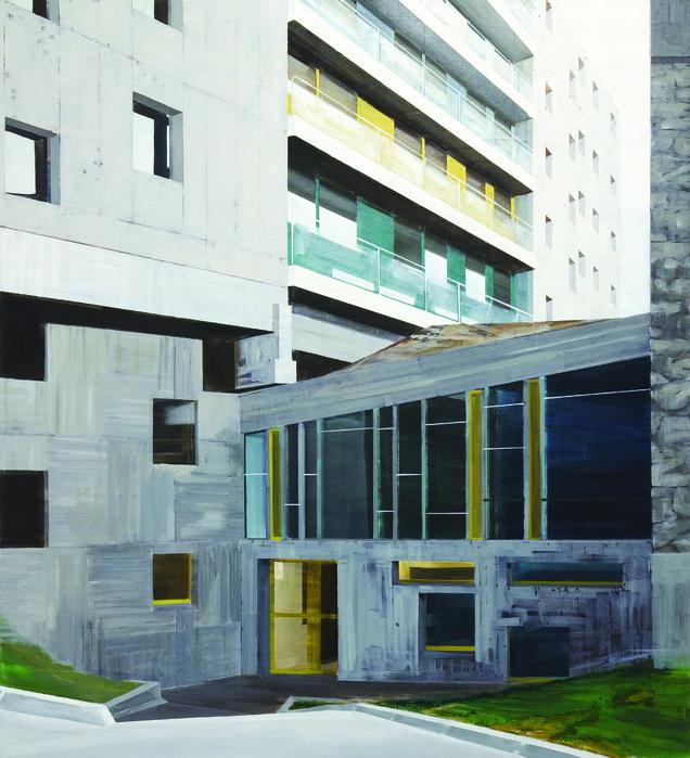 김수영, Brazil pavilion, 캔버스에 유화, 220x200cm, 2003