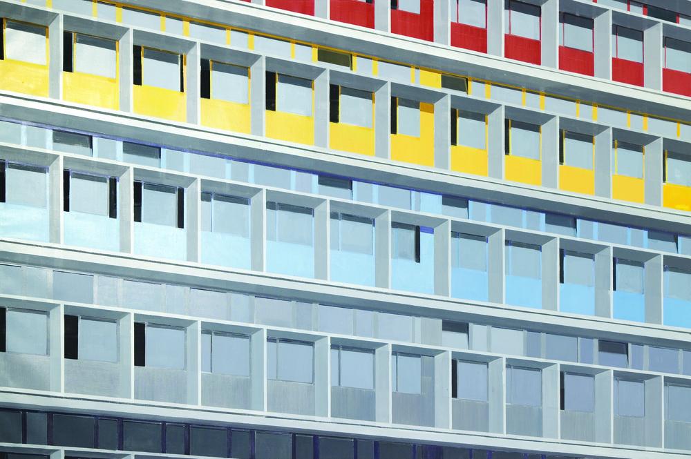 김수영, Cite du Refuge(01), 캔버스에 유화, 200x300cm, 2004