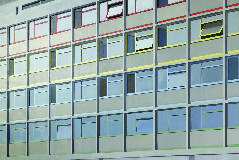 김수영, Cite du Refuge(02), 캔버스에 유화, 200x300cm, 2004