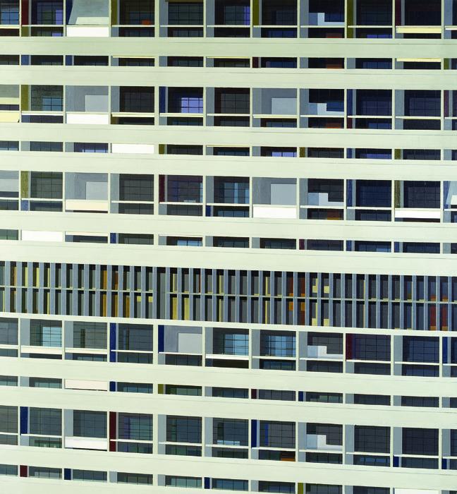 김수영, Marseille Residential House, 캔버스에 유화, 210x195cm, 2006