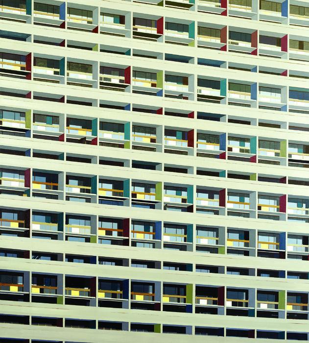 김수영, Residential House in Nantes(026), 캔버스에 유화, 220x200cm, 2006