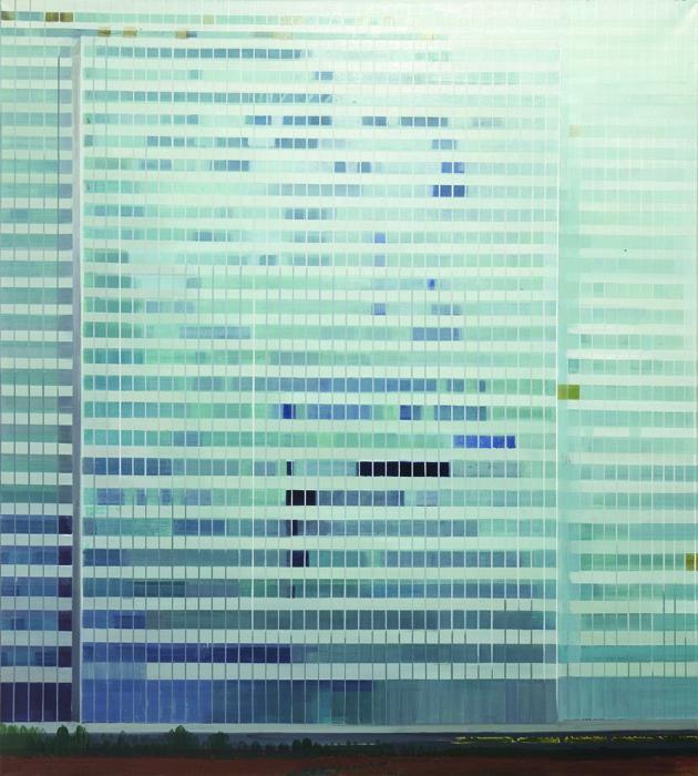 김수영, Tyssen Headquarters, 캔버스에 유화, 200x180cm, 2002