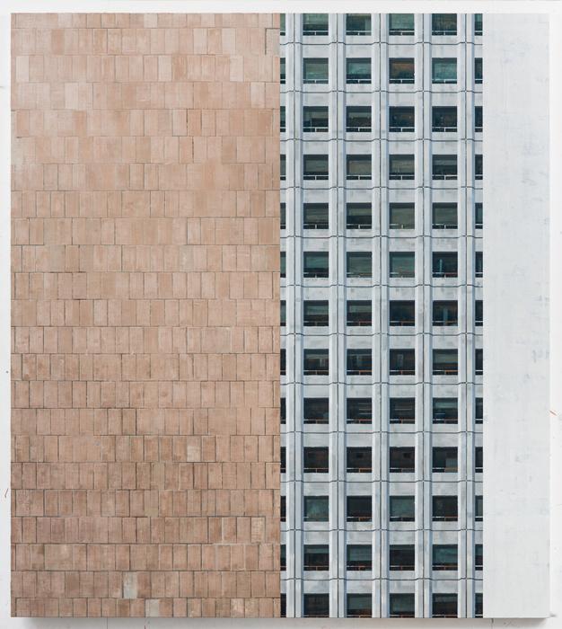 김수영, Work No.1, 린넨에 유화, 190x170cm, 2012-2013