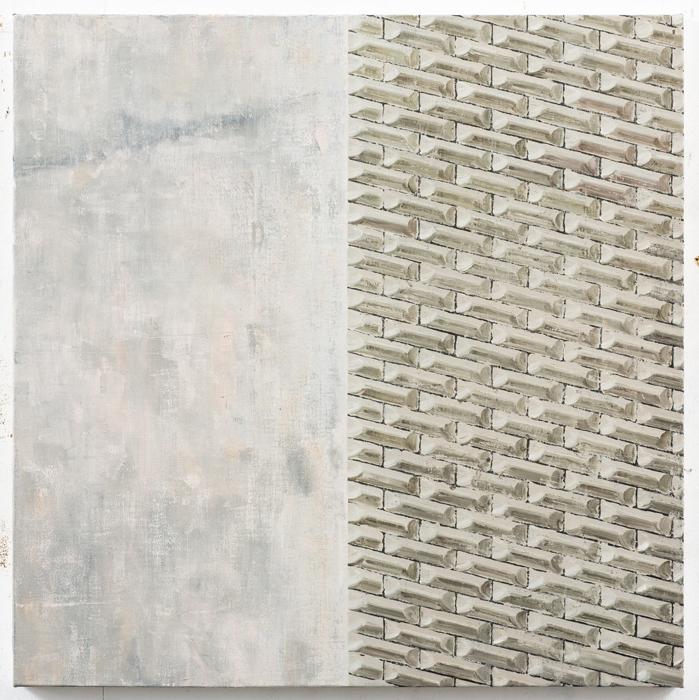 김수영, Work No.2, 린넨에 유화, 72.5 x 72.5cm, 2012