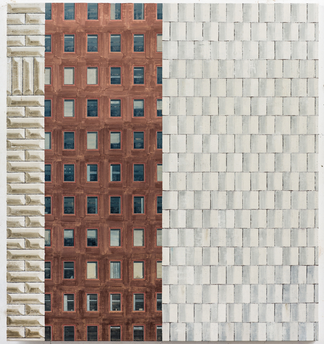 김수영, Work No.3, 린넨에 유화, 104.5 x 97cm, 2013