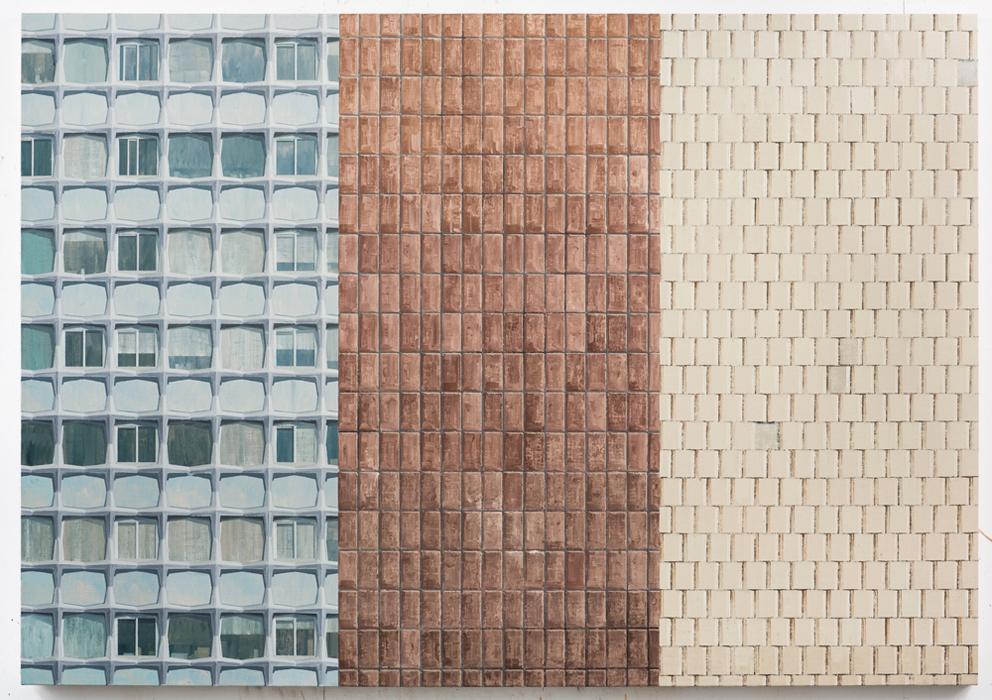 김수영, Work No.4, 린넨에 유화, 140x200cm, 2013