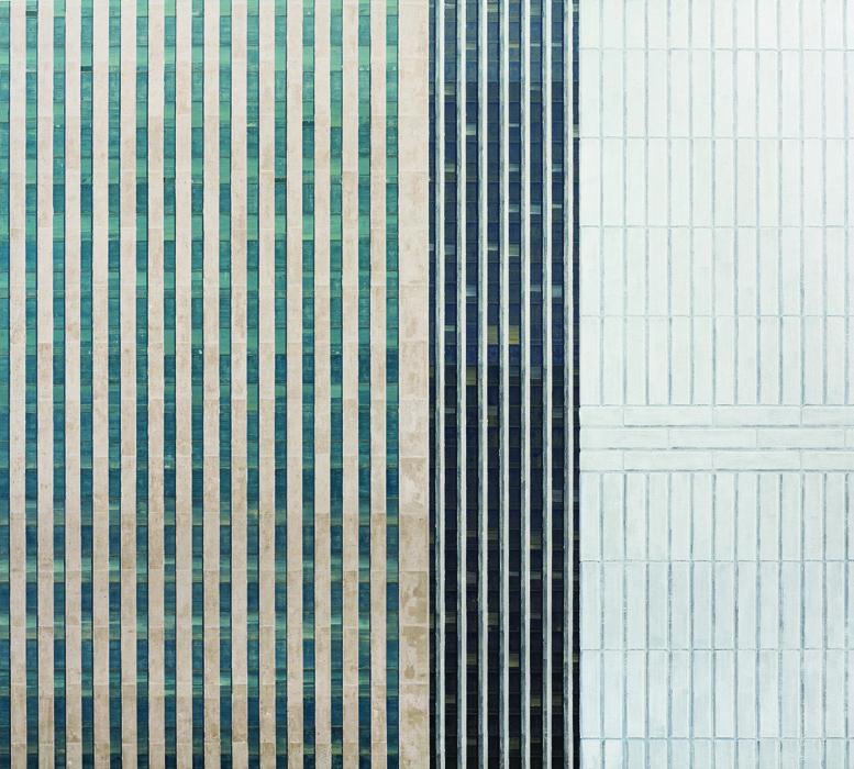 김수영, Work No.5, 린넨에 유화, 170x190cm, 2013.