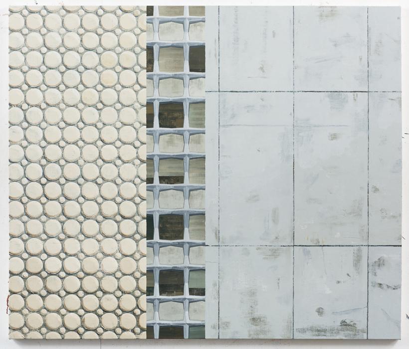 김수영, Work No.6, 린넨에 유화, 119.7 x 120cm, 2012-2013