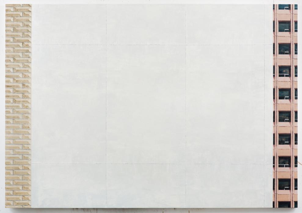 김수영, Work No.9, 린넨에 유화, 140x200cm, 2013