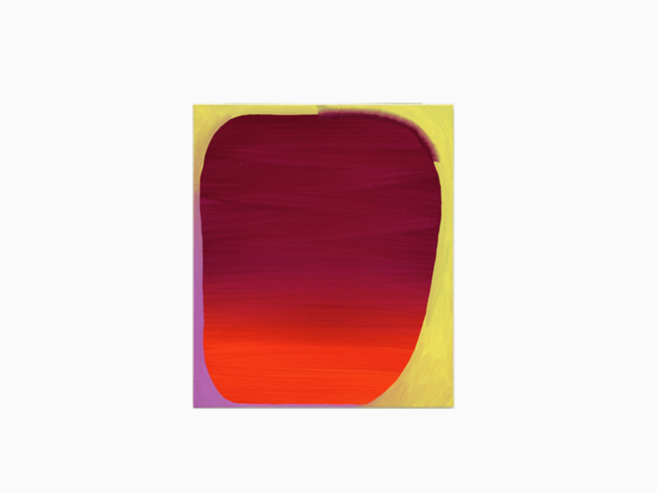 박민하, Sunset Horizon Study, 캔버스에 아크릴 및 유화, 45x38cm, 2015