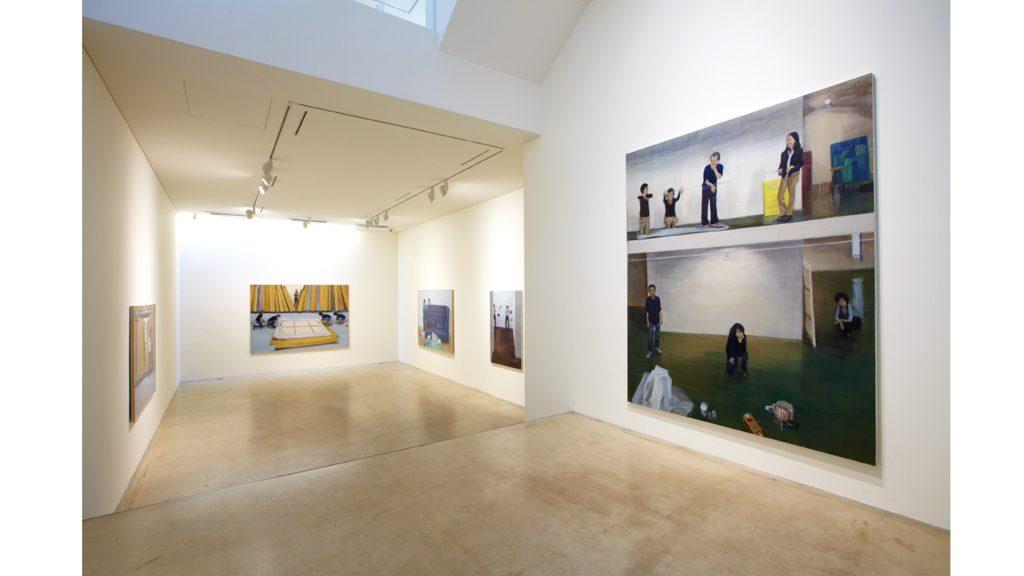 박진아, 하나 그리고 하나, 전시장 뷰, 2012